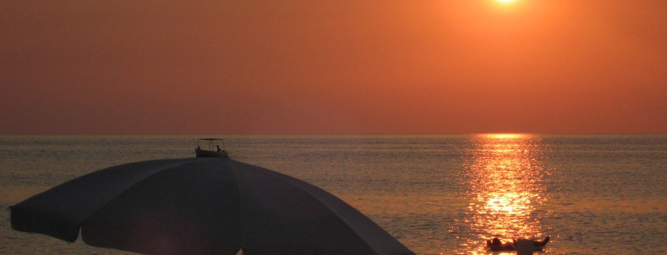 tramonto a villafranca